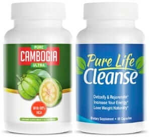 pure cambogia ultra et pure life cleanse